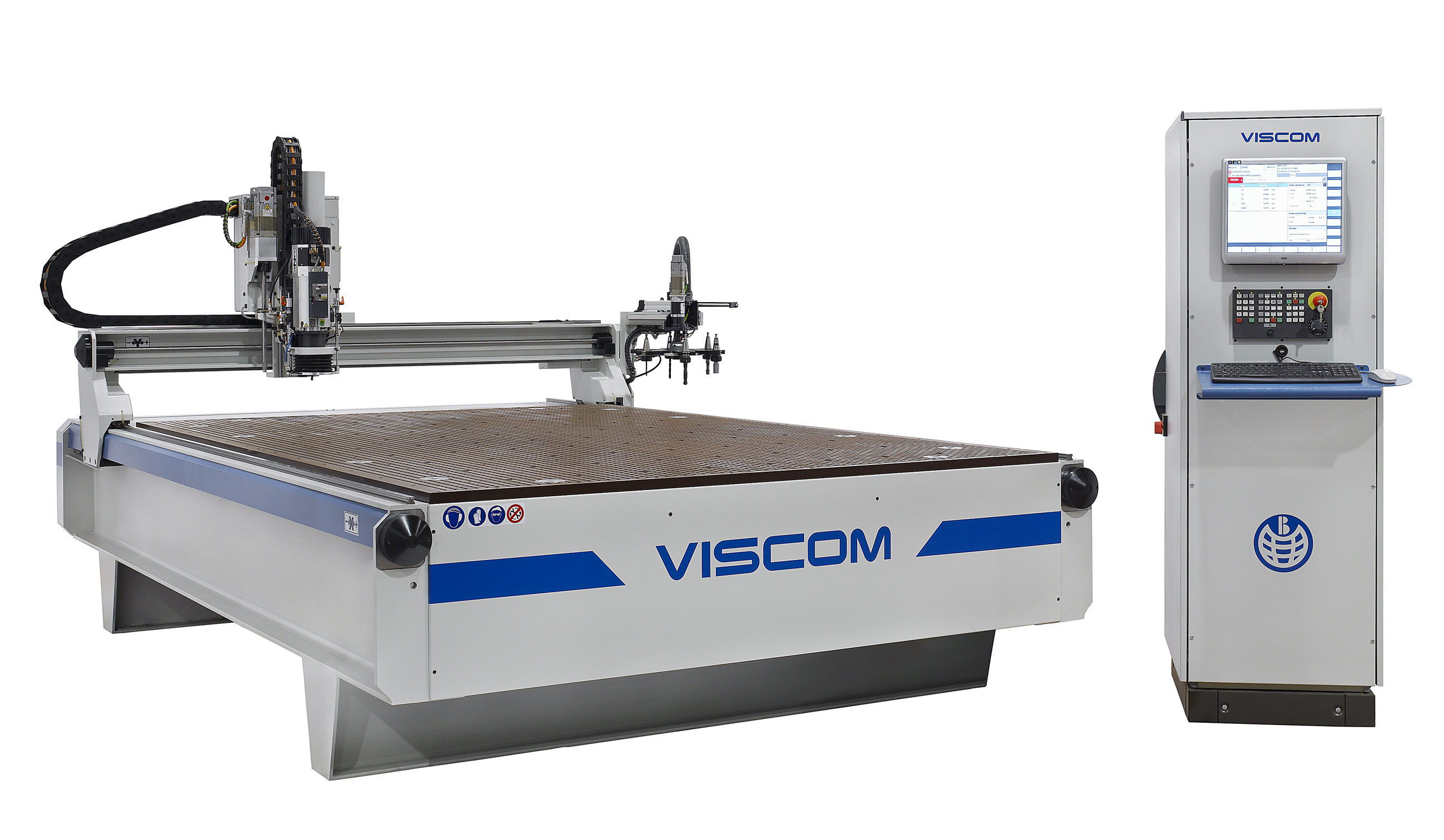 La fresadora de control numérico (CNC), modelo VISCOM, destaca por su gran versatilidad. Está diseña...