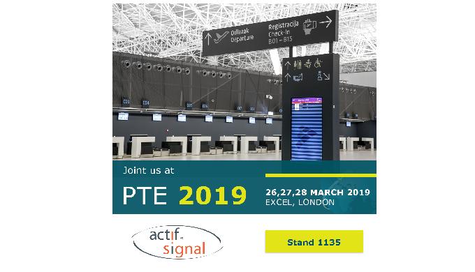 Actif Signal at PTE 2019