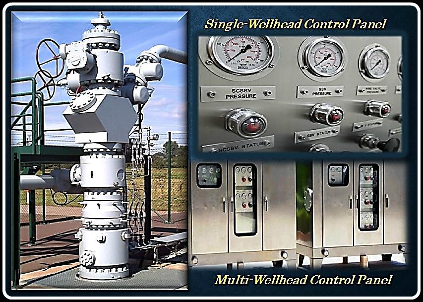 Wellhead Control Panel (Pneumatic/Hydraulic)