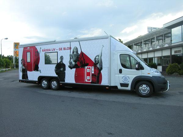 Vi har tillverkat blodbussar, mobila kiosker, tåg och tandvårdskliniker på hjul. Hör av dig så kan v...
