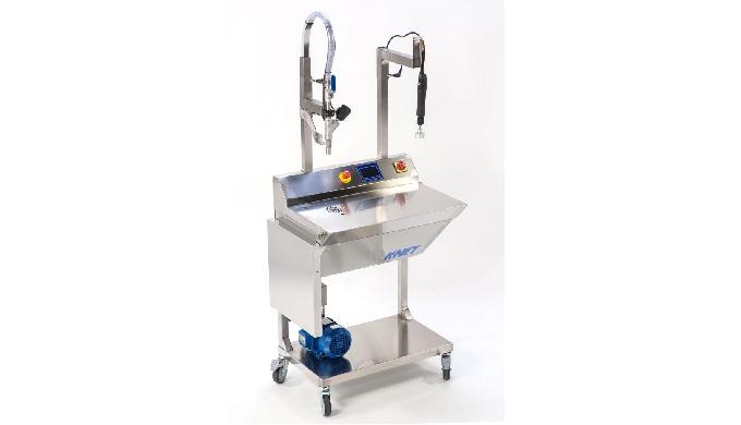Conçue par la société CDA, la K-net est une remplisseuse semi-automatique permettant un dosage-rempl...