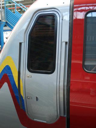 Puertas para metro, ferrocarril ligero Puertas manuales Puertas dobles deslizantes eléctricas
