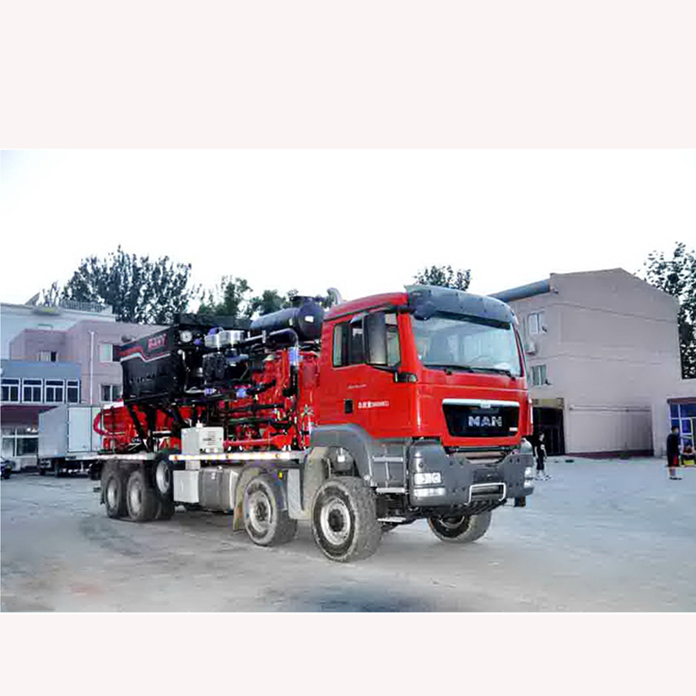 sany SYN5370TYL1490 Fracturing truck Benefits& Features High pressure: Up to 140MPa high pressure ra...