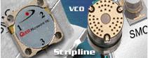VCO Förstärkare Isolatorer/ Cirkulatorer Blandare/ syntar m.m.Under 2008 har vi ökat inom ytmonterad...