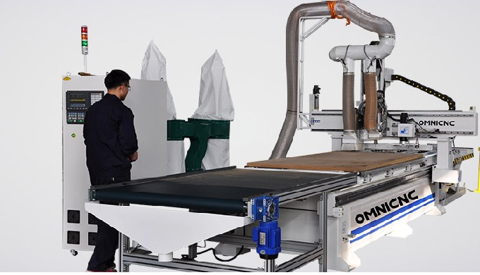 Cabinet Making CNC Router Machine