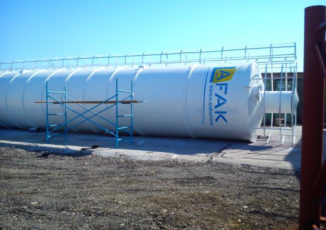 Fabrication du silo 60T/80T/100T/120T/