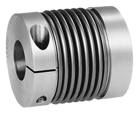 Material: Hub aluminium. Bellows stainless steel. Version: Bright. Note: Radial clamping of the hub ...