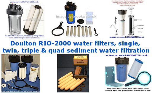 The Doulton Rio-2000 Whole House Filter System Is the best way to get clean clear filtered water in ...