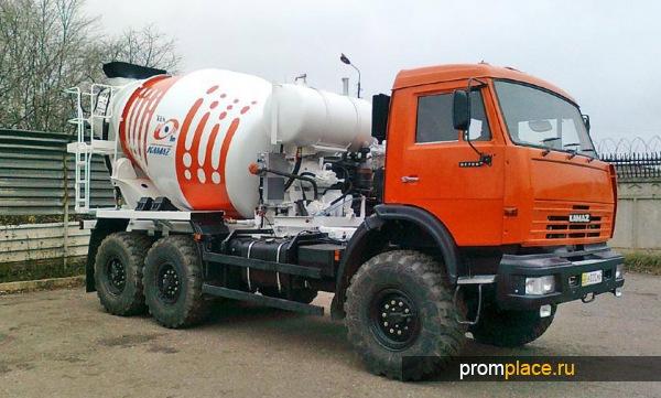 Огромную популярность в строительной сфере получили автобетоносмесители, установленные на базе КамАЗ...