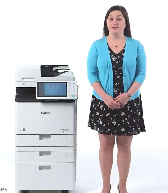 Espace Copieur vous présente un large choix d'imprimantes A4, dont : Le CANON IR Advance C256i Forma...