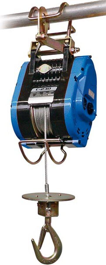 Tragfähigkeit 230 kgBerührt die Seilscheibe beim Hochziehen den oberen Begrenzungsschalter wird der ...