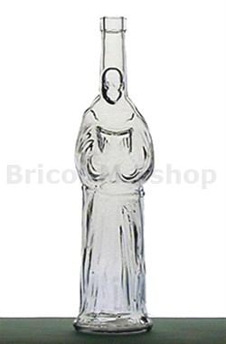 skleněná 500ml láhev ve tvaru Mnicha za mimořádně výhodnou cenu.