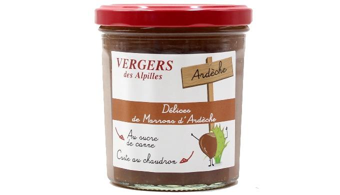 Confiture Extra Délices de Marrons d'Ardèche 370g