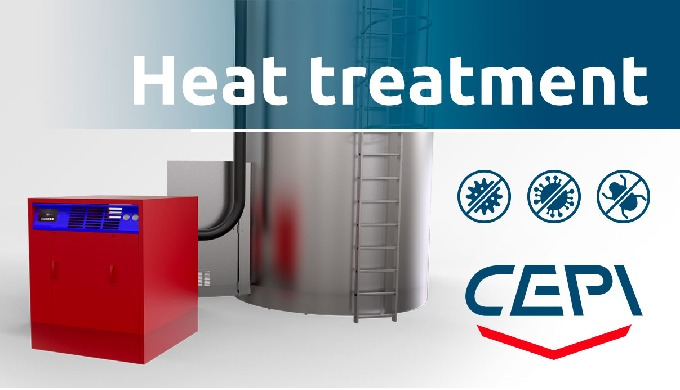 Heat treatment: total disinfestation with zero environmental impact