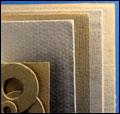 Fiberboard, kalsiumsilikat, keramisk eller Superwool board, Ceraboard, gjorda för höga temperaturer ...
