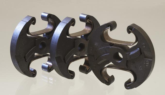 Formteile aus Sintermetall Durch die gezielte Auswahl der Metallpulver können Endprodukteigenschafte...