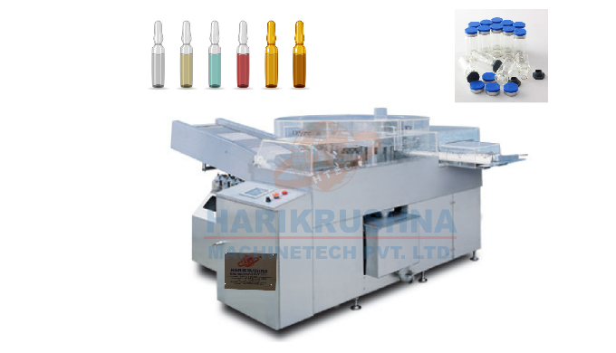 Automatic Rotary Ampoule / Vial Washing Machine
