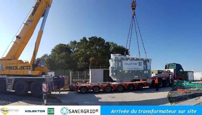 Montage et installation de transformateurs ETRA et de bacs de rétention SONEC vous propose des dossi...