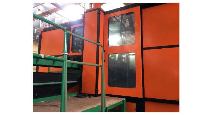 DECIBEL Dbox enclosures protect workers from noise generated during manufacturing. In industrial set...
