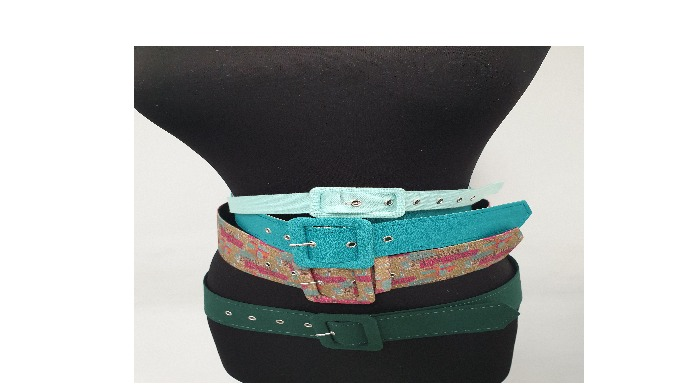 Covered fabric belts