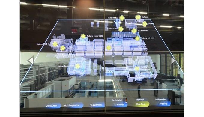 TRUMPF ofrece las soluciones inteligentes que mejor se adecúen para la producción. Estas permitirán ...