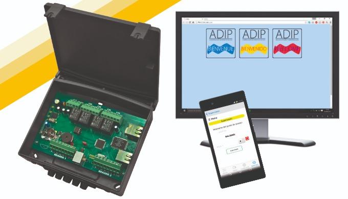 ADIP: Controlador de puertas con webserver, app gratuita y 65.000 usuarios