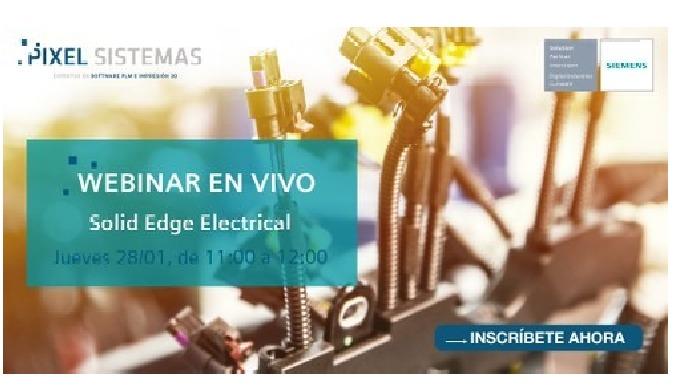 Webinar 28 enero | ELECTRIFICA TUS DISEÑOS CON SOLID EDGE ELECTRICAL