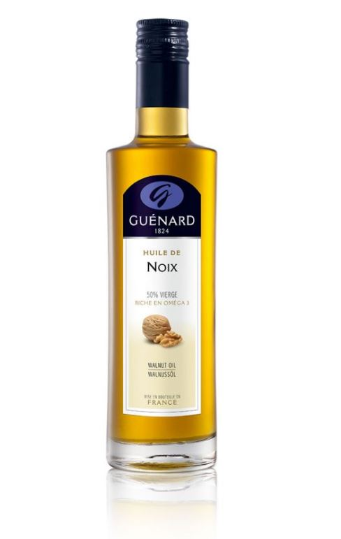 L'Huile de Noix 50% vierge est l'huile au goût toasté et rond en bouche. Cette huile de noix apporte...