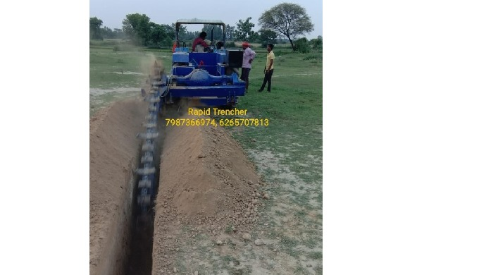 For More Details you can contact us on +91-7987366974, 6265707813 Trencher Machine details :- Brand ...