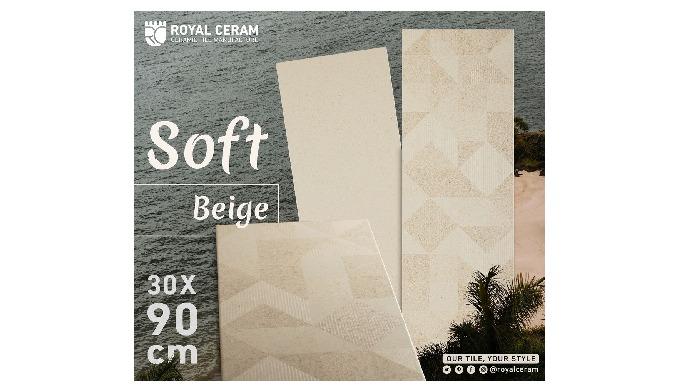 Size: 30x90cm Color: Beige Type: Wall Tile Finish: Matt