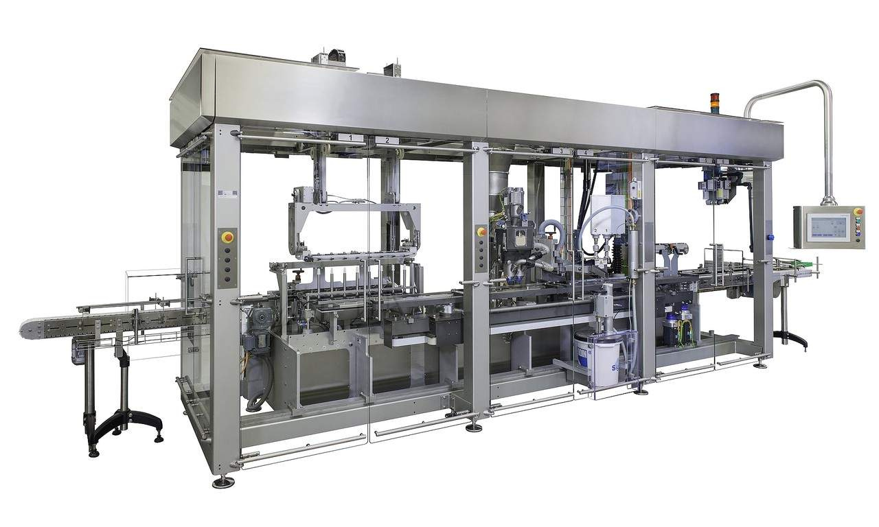 Filling and Closing Machine OPTIMA MPS