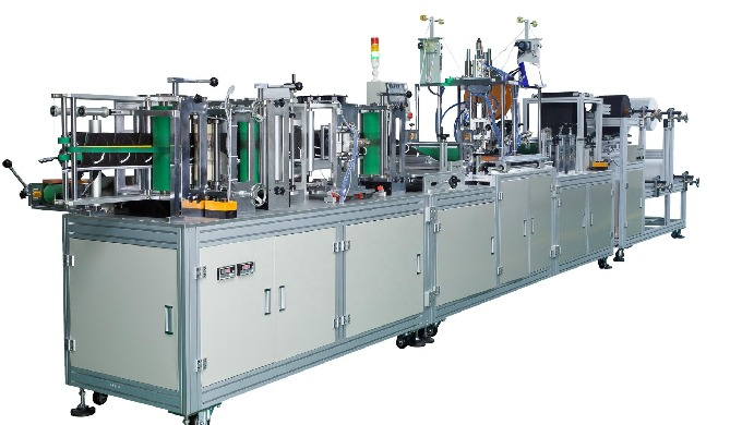 Auto Kn95 face mask machine