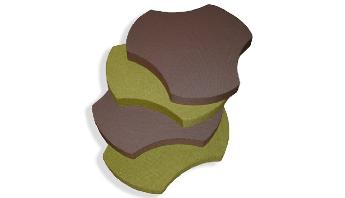 Stelio Acoustic Panel with fabric finish is a design solution for acoustic treatment. The product's ...