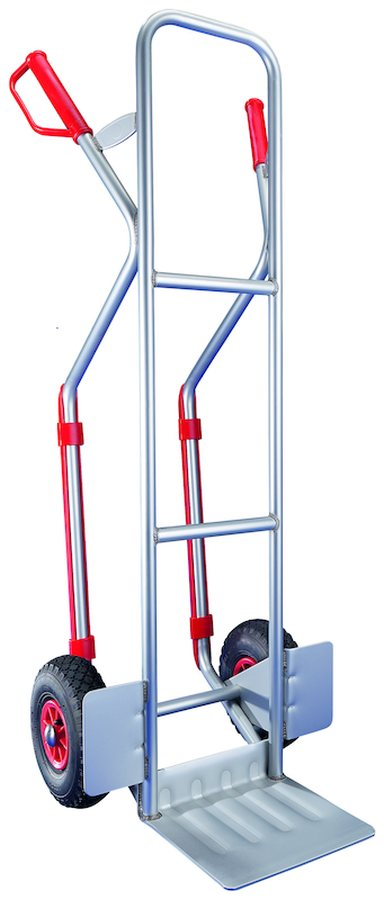 mit Gleitkufen und fester SchaufelSicherer und einfacher Transport über Stufen und Kanten mittels Gl...