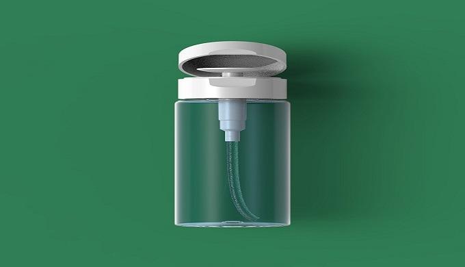 4)Menda Pump l cosmetic container