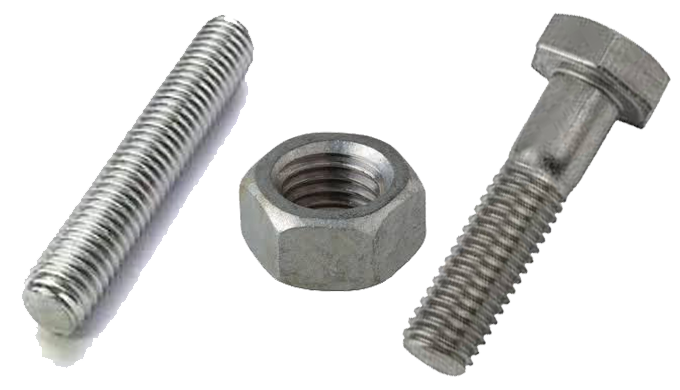 API 20E fasteners i.e. Stud, Nuts certified to any of the 3 API 20E bolting specifications. Out qual...
