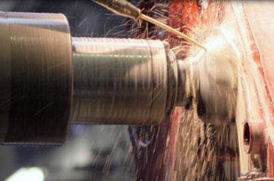 Horizontální CNC vyvrtávání