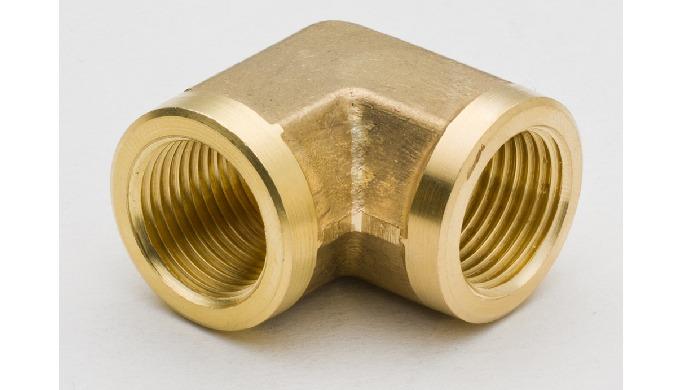 90 Degree Brass Female Elbow BSP