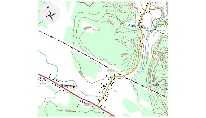 Etudes topographiques