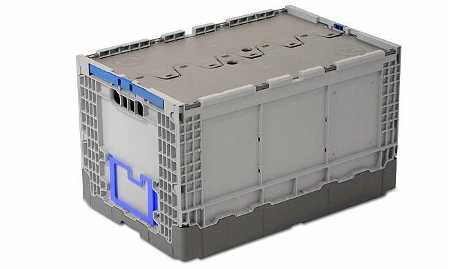 Leere Klappboxen können auf bis zu 20% ihrer ursprünglichen Grösse reduziert werden. Daher eignen si...