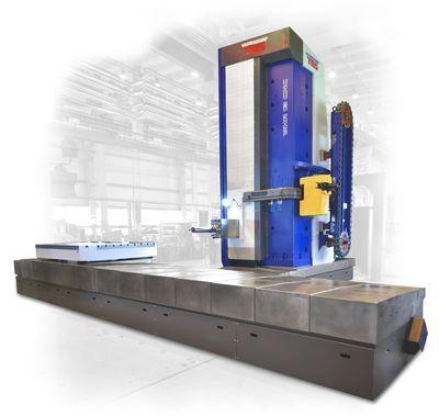 Vodorovná vyvrtávačka WHR 13 (Q) Vodorovná stolová vyvrtávačka s výsuvným smykadlem a pracovním vřet...