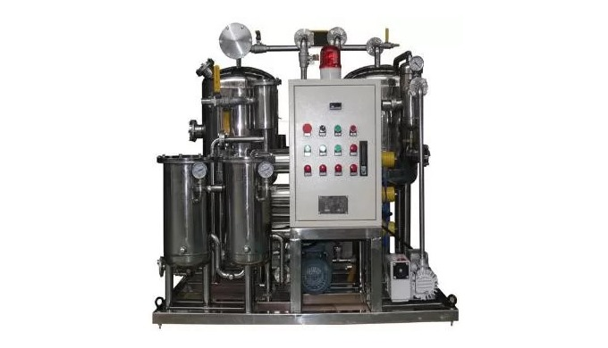 Phosphate Ester Fire-resistant Oil Purifier Fire resistant oil filtration machine is designed accord...