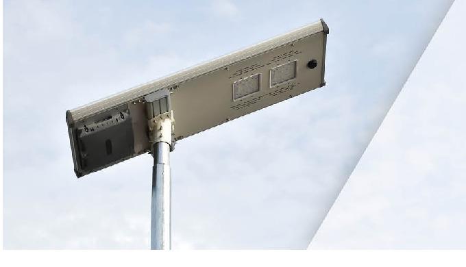 Panel Solar, se activan automáticamente de noche al 30% de iluminación y al detectar presencia pasan...