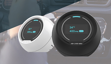 AirCare -MINI (Air quality monitoring system)
