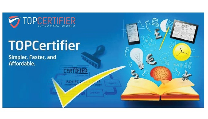 TopCertifier helps your organization certify for ISO, CMMI, CE and other international certification...