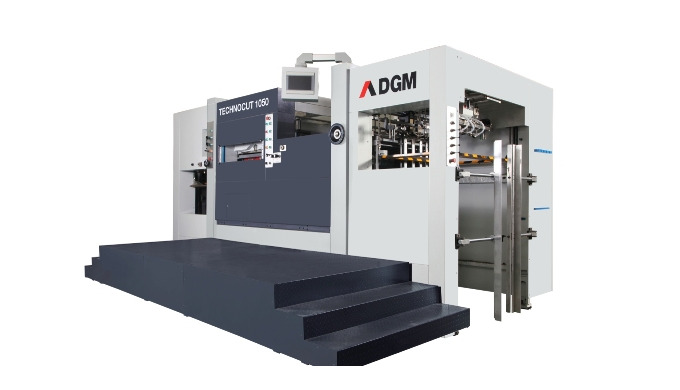 FLATBED DIE-CUTTERS TECHNOCUT 1050 Automatic die-cutter without stripping unit. TECHNOCUT 1050 Autom...