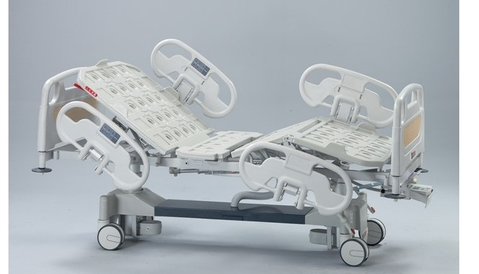 This Bed has two pieces: column motors and two DC motors. By hand set and/or nurse control panel and...