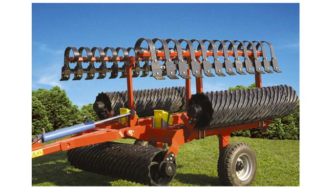 Правильне ущільнення грунту Коток ФУНТ агрегатується з тракторами класу 1,4.2,0 т і призначений для ...