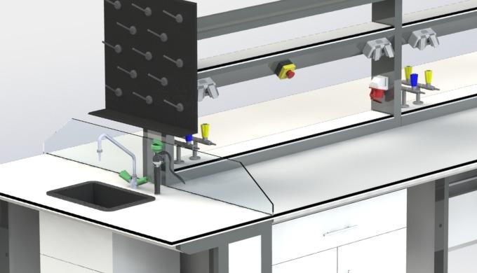 Toutes nos paillasses sont de conception préfabriquée et modulable. Elles peuvent s'adapter à toutes...