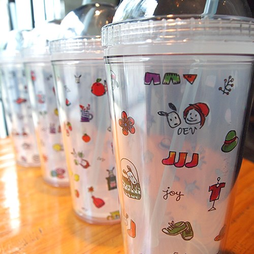 Odong et valerie Ice Tumbler-pastel series. Size 8.2 x 19 cm (500ml). Think of the environment. You ...